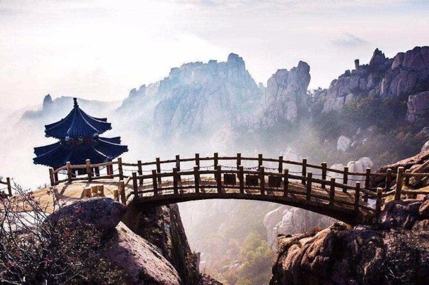 Show item 1 of 7. Qingdao Private Day Tour to Laoshan Mountain with Lunch and Cable Car