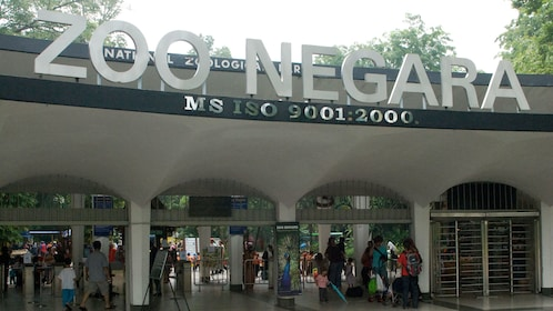 Entrance to  Kuala Lumpur National zoo