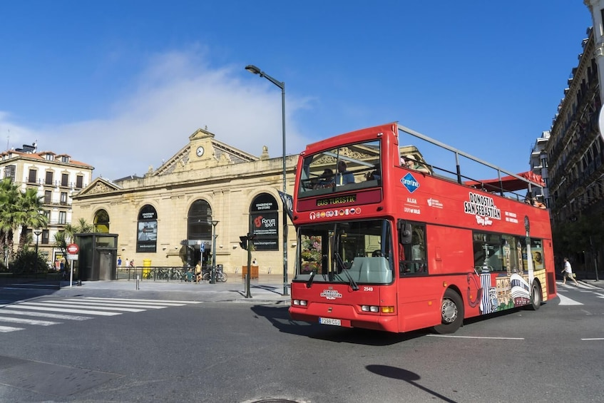Donostia - San Sebastián City Tour Bus, Hop On - Hop Off