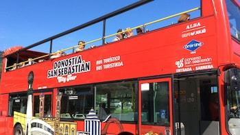 Visite de Saint-Sébastien (Donostia) en bus à arrêts multiples
