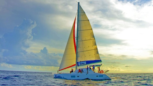 Sailing in Cancun Mexico
