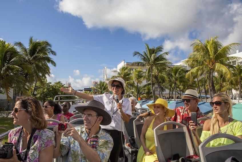 Foto 1 van 7. Miami Hop-On Hop-Off Bus Tour