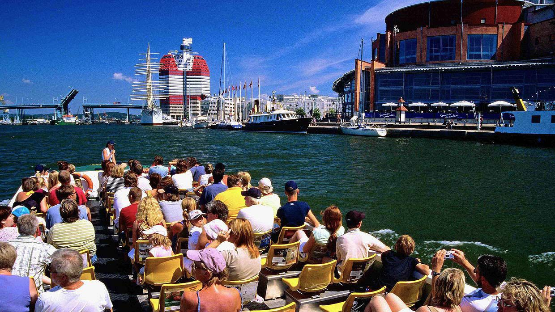 Paddan: Sightseeingtur i båt langs kanalene