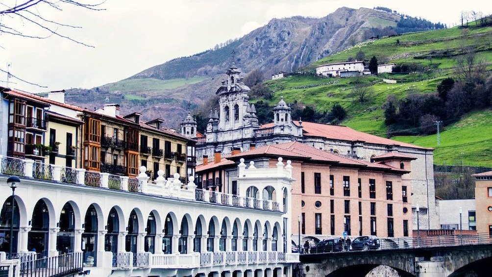 Historic buildings in the city of Tolosa