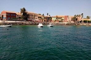 Gorée Island - Pink Lake.