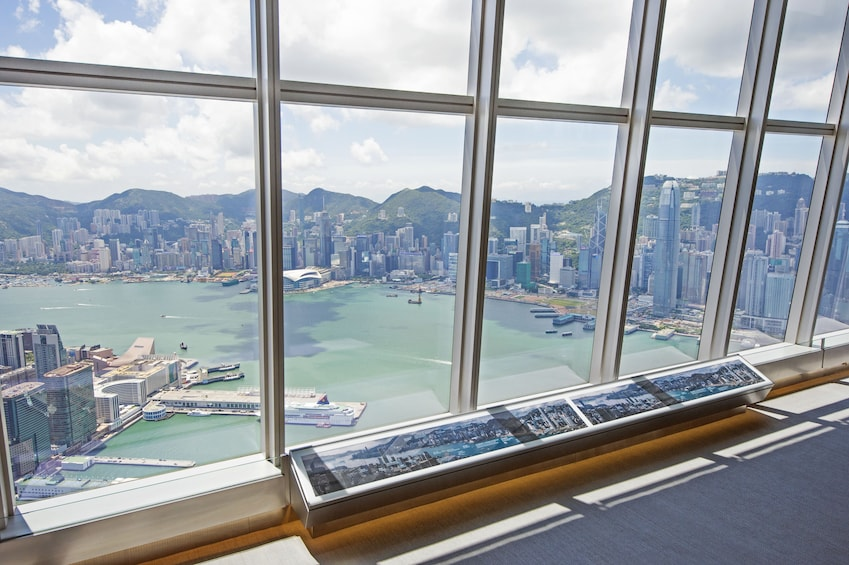 正在顯示第 1 張相片,共 10 張。 sky100 Hong Kong Observation Deck Tickets