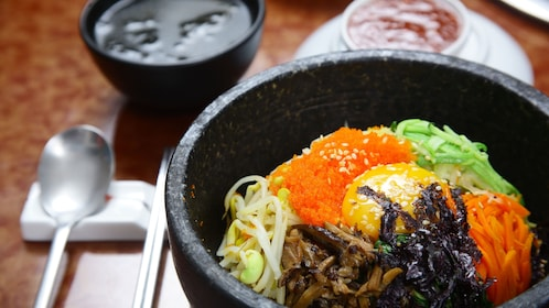 Traditional style Korean food in Seoul