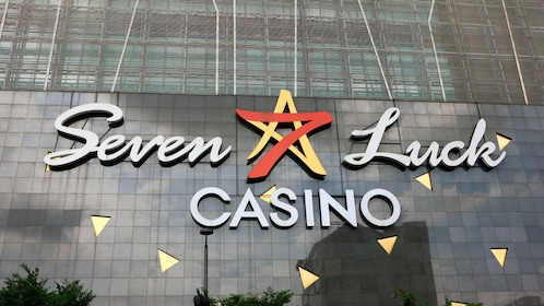 Entrance to the Seven Luck Casino in Seoul