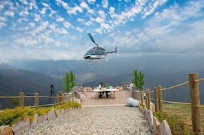 Helicopter Tour at Chicamocha Canyon