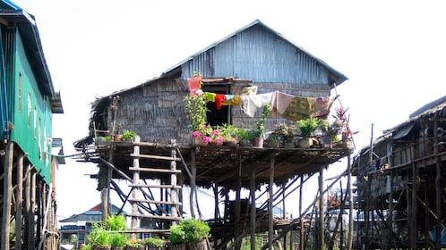 House on stilts in Pulau Ketam