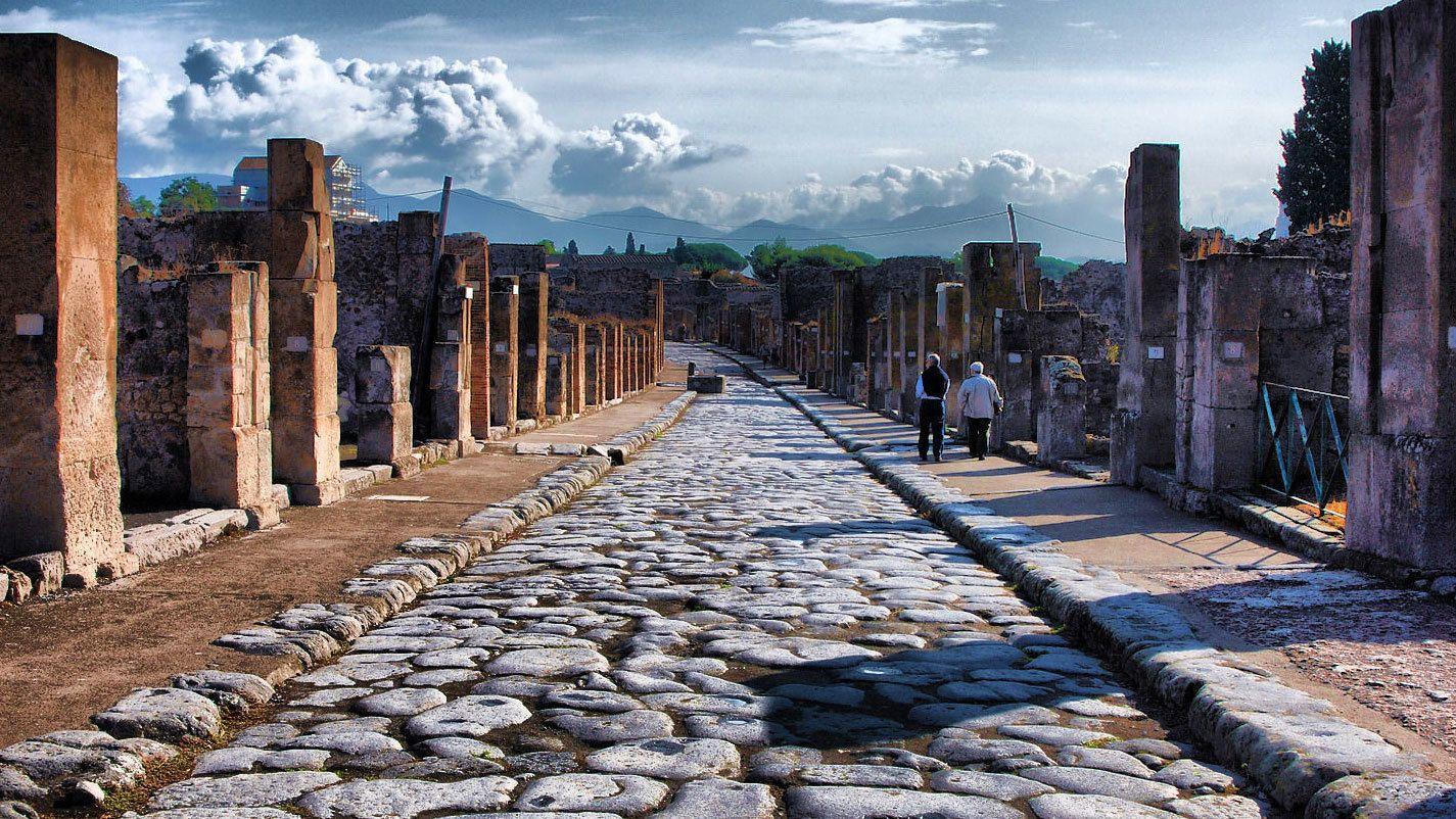 Ganztagesausflug nach Pompeji und zur Amalfiküste