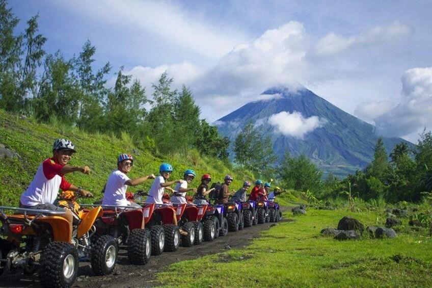 Private Legazpi City Bicol Tour with ATV Adventure Ride