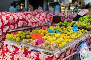 local cooking class and visit to Papeete market
