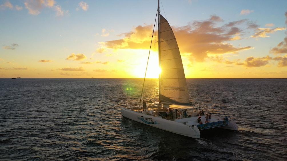 Show item 1 of 9. Catamaran Sunset Cruise