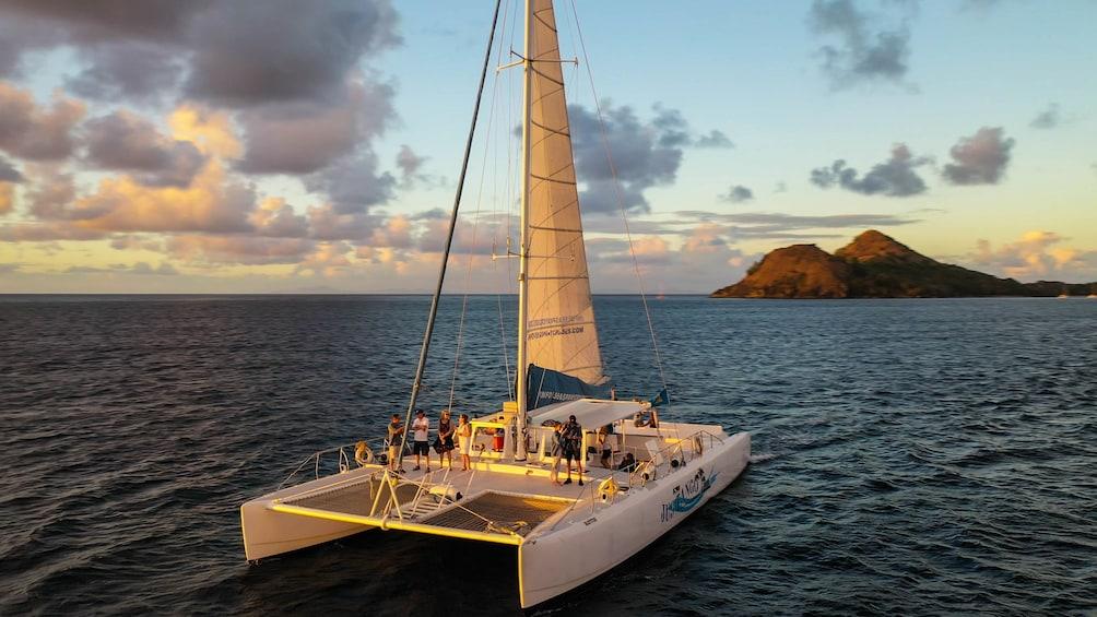 Show item 3 of 9. Catamaran Sunset Cruise