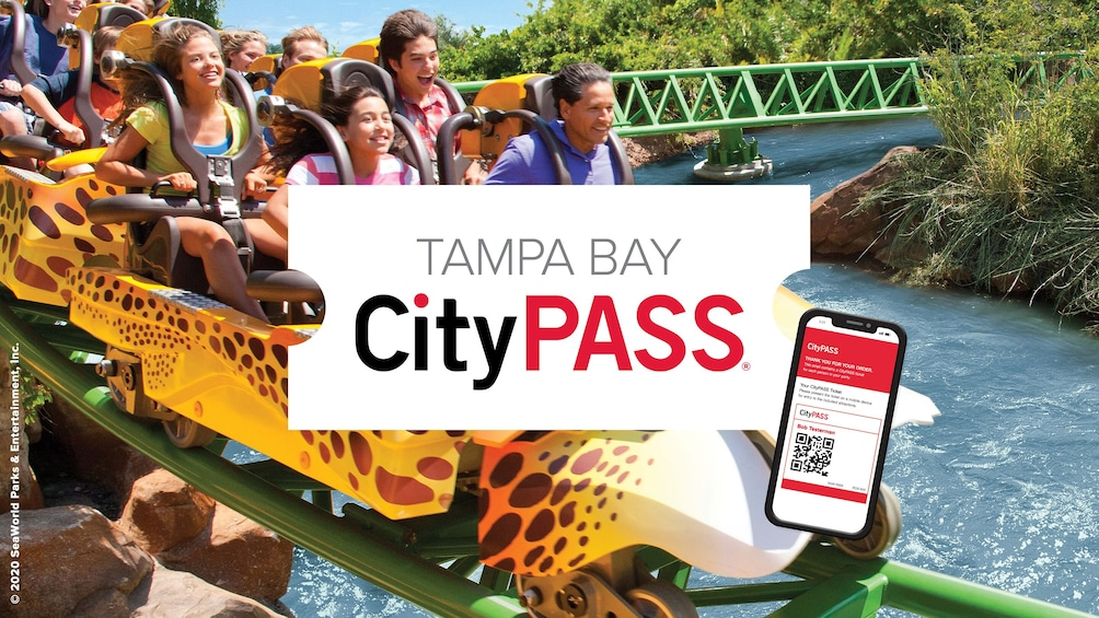 Foto 1 von 9 laden Tampa Bay CityPASS: Admission to Top 5 Tampa Attractions