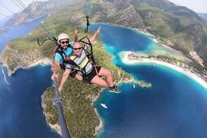 Double Paragliding Flight