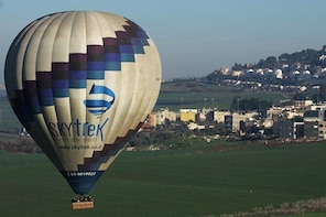 Hot Air Balloon Flight Including Champagne Gourmet Breakfast and Souvenirs