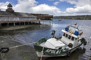 Excursion to Chiloe Island: Castro and Dalcahue
