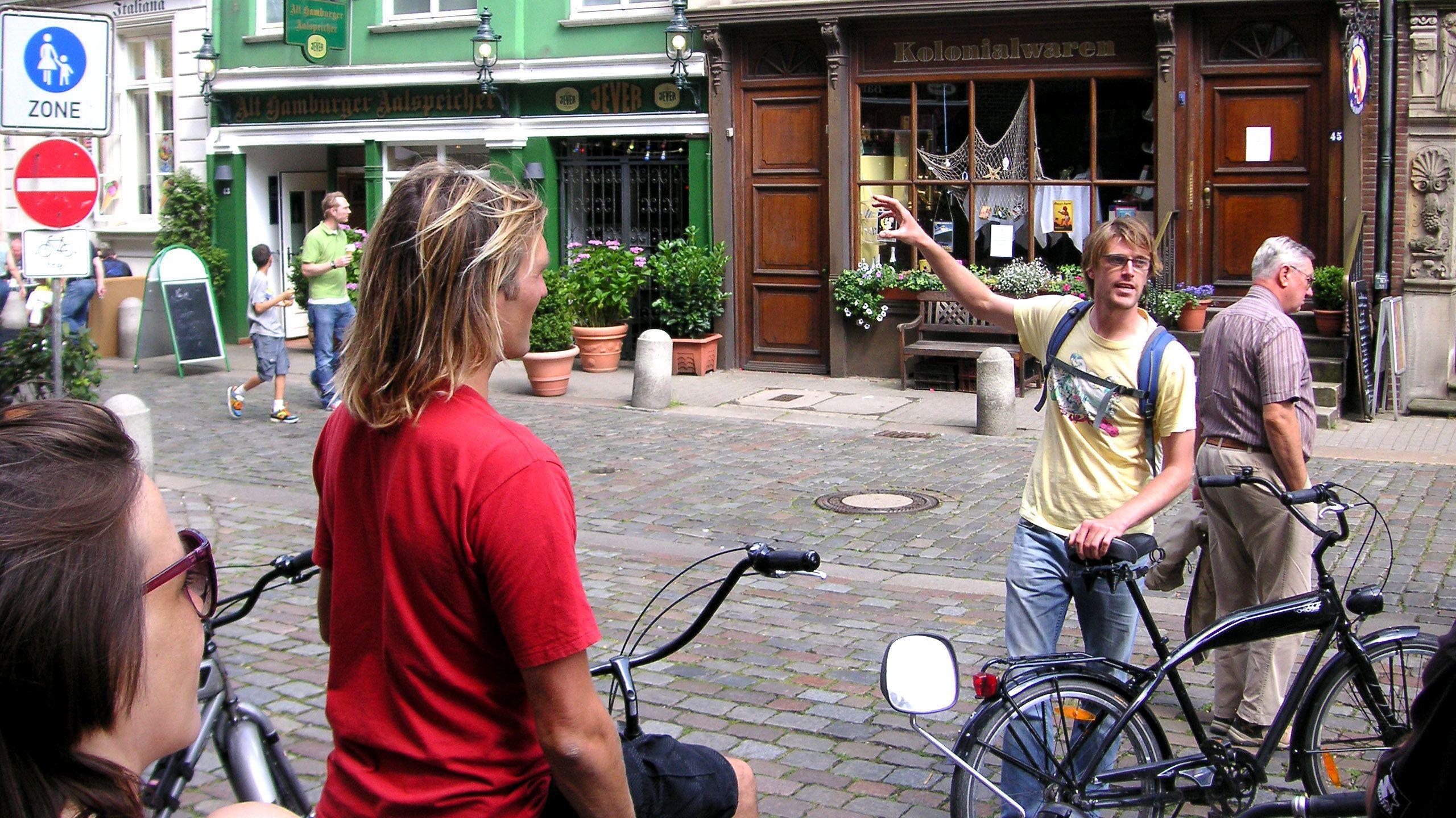Geführte Fahrradtour durch die Stadt