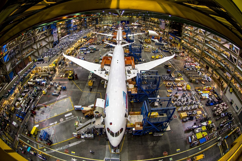 Show item 2 of 10. Boeing Factory & Future of Flight Center Tour with Transportation