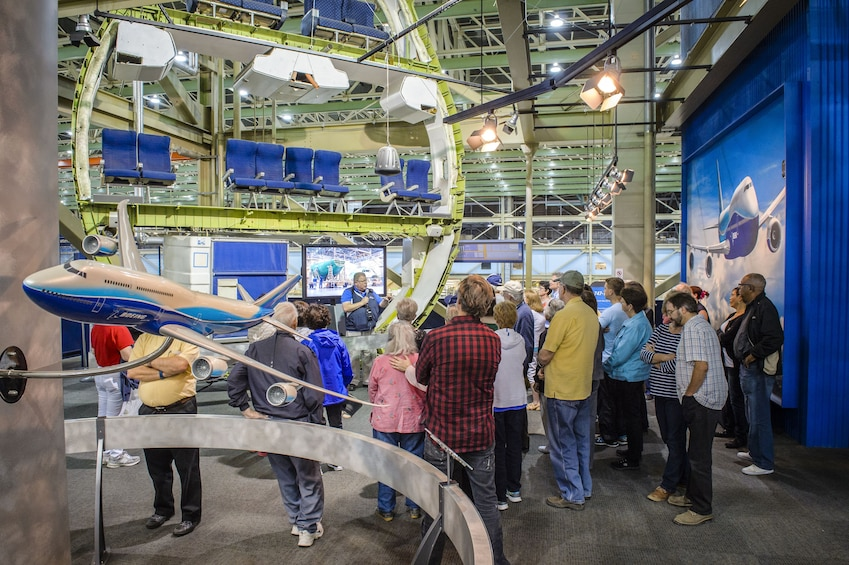 Show item 1 of 10. Boeing Factory & Future of Flight Center Tour with Transportation