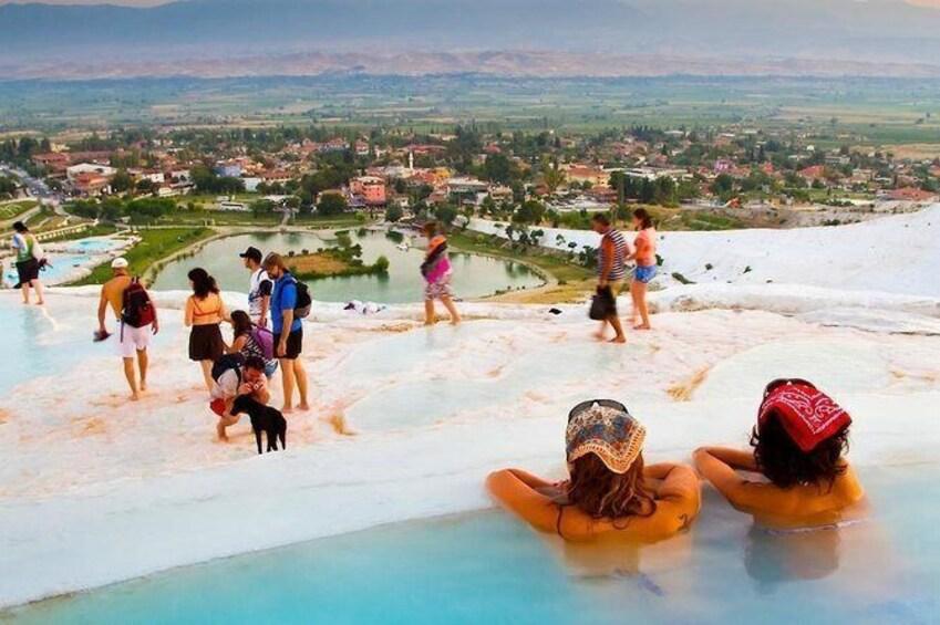 2-Days Pamukkale Tour From Alanya, Side or Antalya.