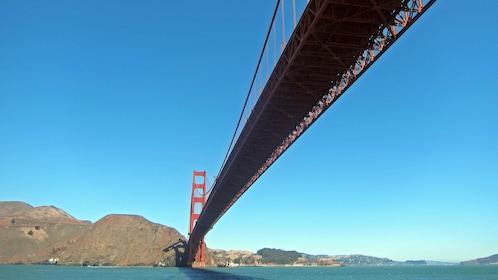 Golden gate bridge view in San Francisco