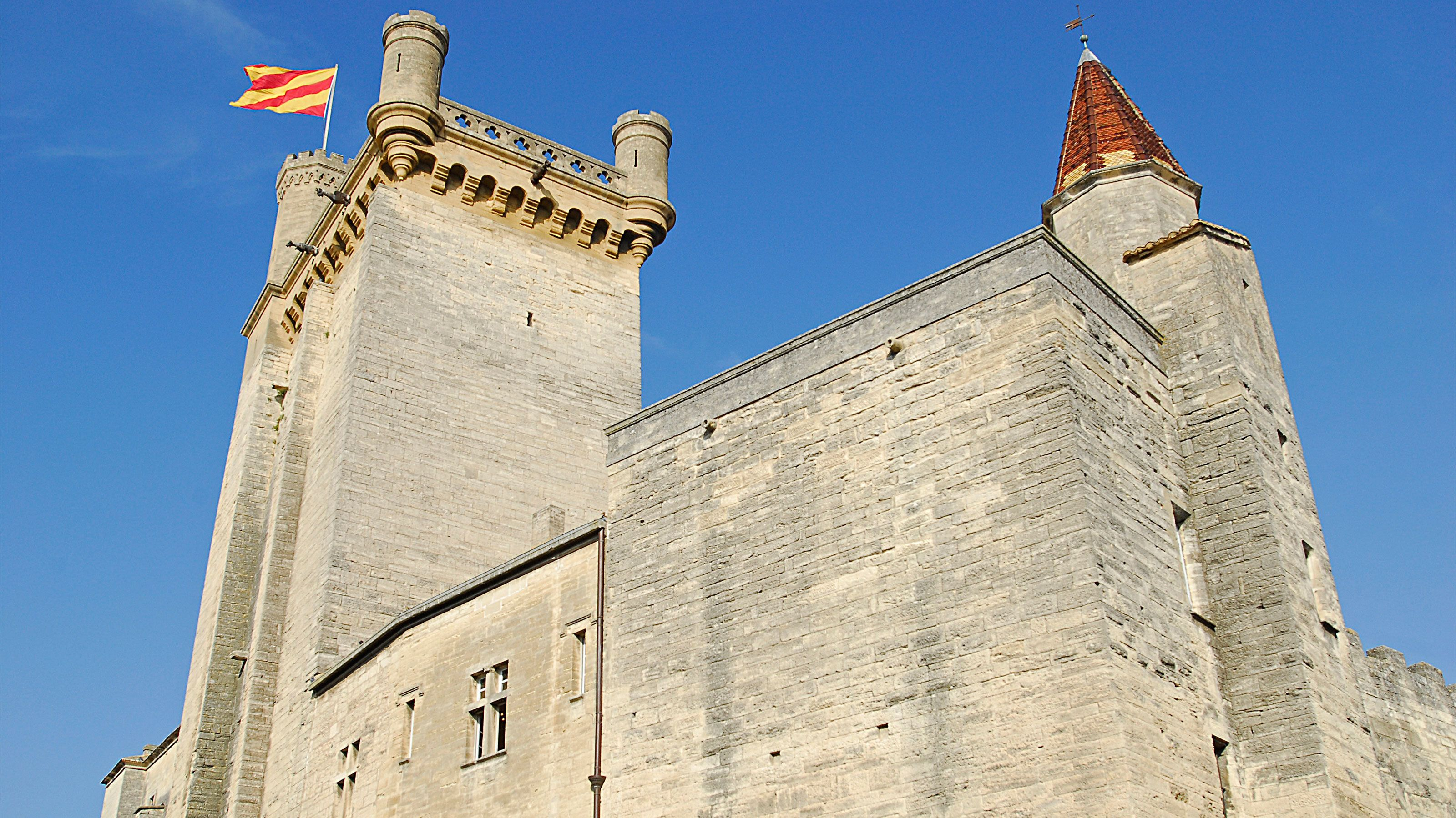 Castle in Uzes