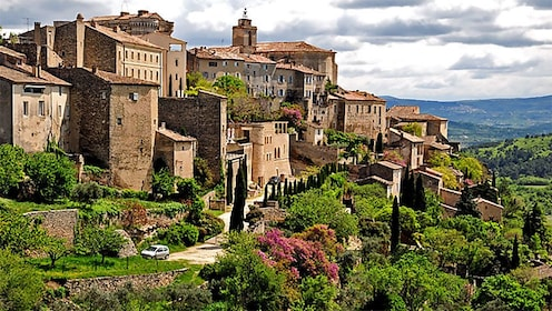 Old town in Provence France