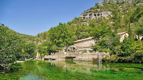 Creek waters of Provence France