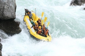 White Water Rafting on the Yoshino River in Iya Valley