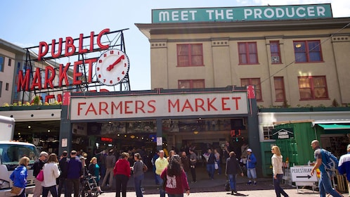 at the heart of the Pike Place Market in Seattle