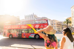 Malaga Hop-on Hop-off Bus Tour and Experience Cards