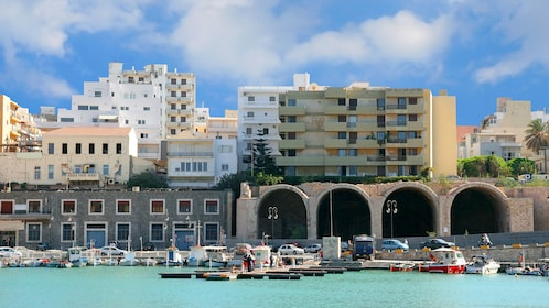 Beautiful view of Heraklion in Greece