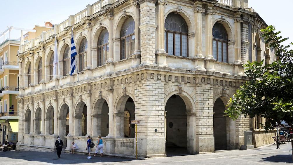 Stunning building in Heraklion