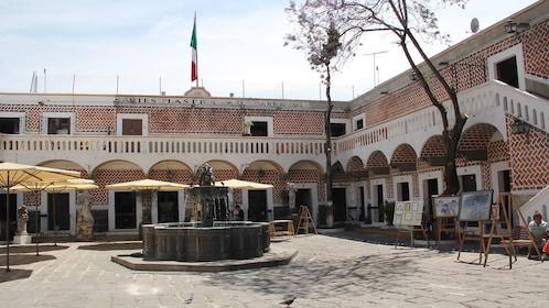 Building in Puebla