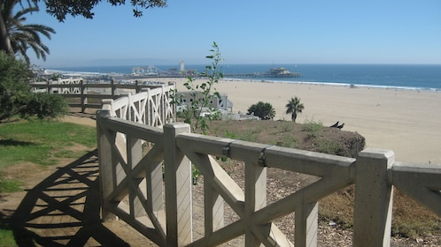 View of the beach in Los Angeles