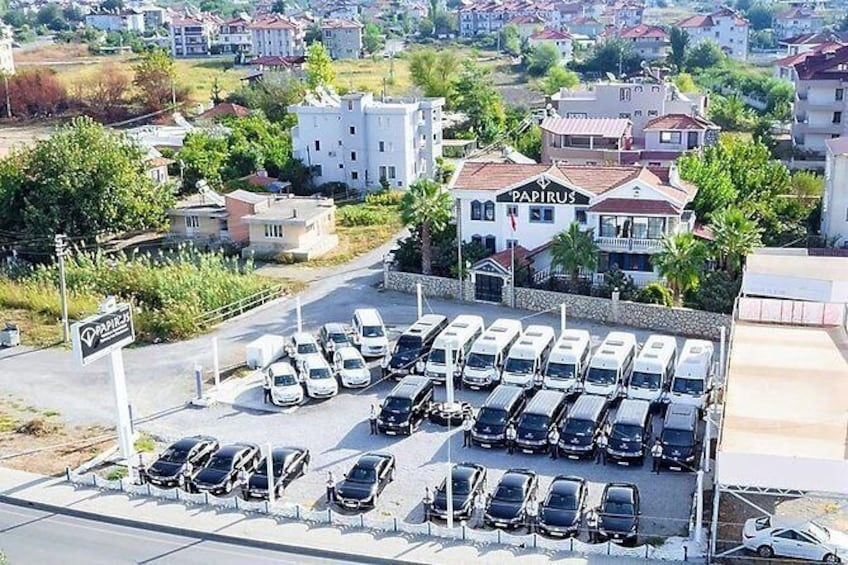 Show item 3 of 5. Private Airport Transfers: From Fethiye/Oludeniz to Dalaman Airport