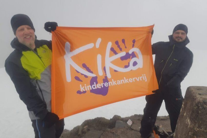 Guided Ben Nevis walks available throughout the year with qualified Ben Nevis Guides.