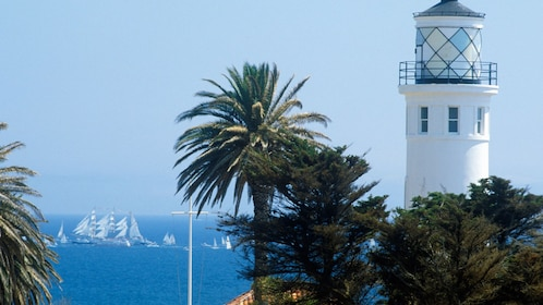 Lighthouse at Palos Verdes in Los Angeles