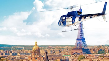 Helicopter Tour over Paris & the Chateau de Versailles