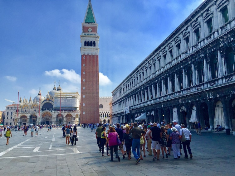 Show item 1 of 10. Skip-the-Line: Doge's Palace and Saint Mark's Basilica tour