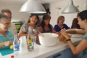 Sangria & Paella Cooking class and Dinner in a Secret Garden