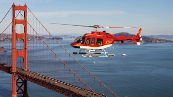 Helicopter Tour & Sunset Dinner Cruise