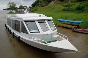 VIP Speedboat tickets from Santa Rosa (Border with Brazil) to Iquitos (Peru...
