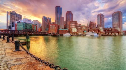 City view in Boston