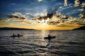 Sea Kayak Magnificent Sunset over Zlatni rat