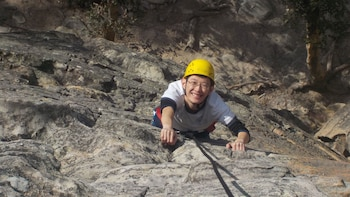 Full day Abseiling & Rock-Climbing Combination
