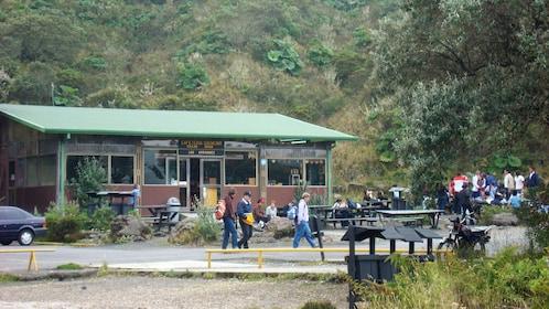 Ranger station within Irazu Volcano National Park
